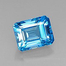 8.43ct Swiss Blue Topaz~ size 12.11 x 9.57 x 7.5 m