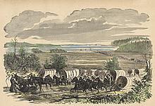 Army Train Burnside Campaign Harper's 1862