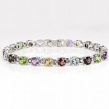 Beautiful Mutli Gem Bracelet