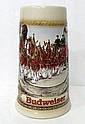 Vintage Budweiser German Staffel Stoneware Stein