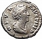 Faustina I Roman Empress Ancient Coin