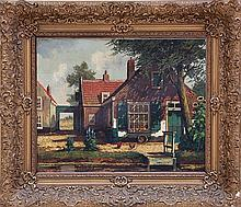 Hubregtse (Dutch early 20th century) Oil on Canvas