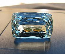 FINE LARGE NATURAL AQUAMARINE 15.55CT