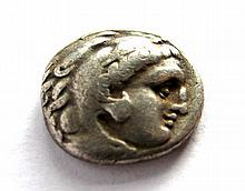281B.C Ancient Greece Alexander III Macedon Coin