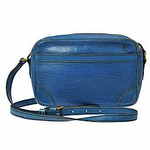 Louis Vuitton Trocadero Blue Epi Leather Bag