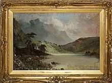 Aubrey Ramus Oil on Canvas Highland Landscape