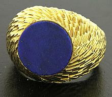 Vintage Tiffany & Co France Lapus Lazuli Ring