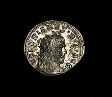 Ancient Roman billon Antoninianus EmperorValerian