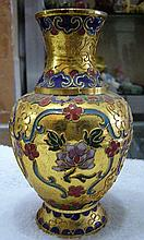 Rare Chinese Cloisonne Vase