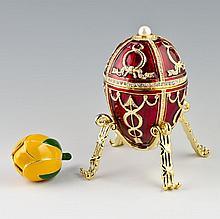 Rosebud Faberge Inspired Egg