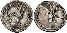 Ancient Roman Trajan Coin