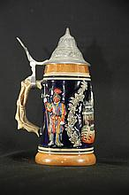 Vintage Albert Jacob Thewalt German Beer Stein