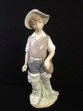 LLADRO Figurine of a Fisherman