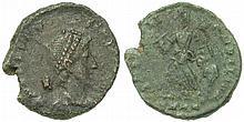 Ancient Roamn Theodosius I Coin