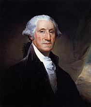 George Washington Oil on Canvas Repro Painting