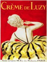 French Poster Creme de Luzy Paris
