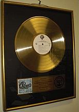 Chicago 18 Gold Plated Record