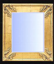 Traditional styled mirror with gold gilt frame