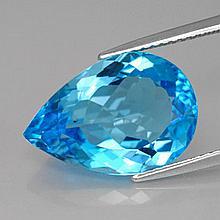 8.59ct Swiss Blue Topaz~ size 15.93 x 10.96 x 6.8