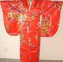 Chinese Silk Womens Kimono Robe