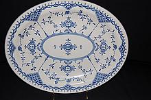 Staffordshire Ironstone Oval Platter