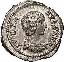 Rare Julia Domna Roman Empress Coin