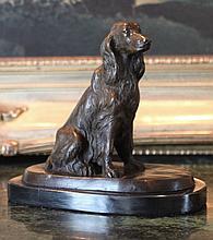 Bronze Sculpture Irish Setter