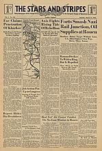 STARS AND STRIPES Newspaper Dated, March 13 1943