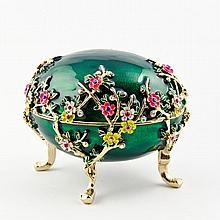 Flower Blossom Faberge Inspired Egg