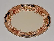 1930's Thomas Hughes English Staffordshire Platter
