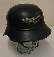 WWII Luftschutz German Helmet.