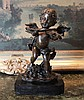 Charming Angel Bronze Sculpture