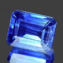 5.20 Ct. Octagon Cut Royal Blue Kyanite
