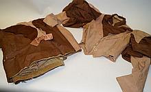 Original Wild West two-piece dress ensemble
