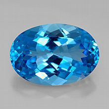 12.38ct Swiss Blue Topaz~ size 17.08 x 11.85 x 8.0