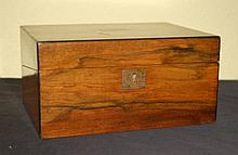 Walnut Lap Desk 19th Century