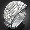 Excellent Classic Style Crystal Bangle Bracelet