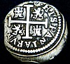 Rare 1627 Silver Cross Spanish Colonial Coin