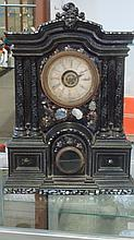 Rare Cast Iron Ansonia Mantel Clock