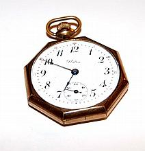 Langenoorf Swiss Pocket Watch