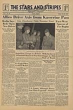 STARS AND STRIPES Newspaper Dated, February 26 194