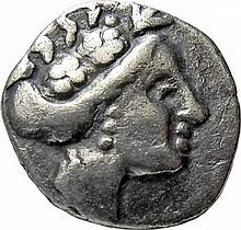 Ancient Greek coin Euboia Histiaia, 3rd Century BC