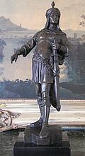 Arabian Knight Bronze Sculpture