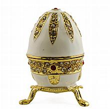 Blanc D'oeuf Faberge Inspired Egg