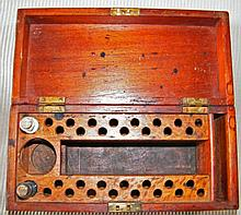 19th Century APOTHECARY Medicine Case Box