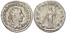 Ancient Roman Gordian III Coin