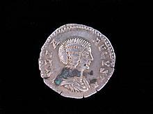 Roman Imperial Denarius, Julia Augusta, 58BC-29AD