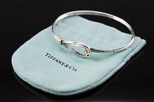 Tiffany & Co. 18K Gold, Sterling Silver Bracelet