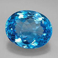 11.11ct Swiss Blue Topaz~ size 14.96 x 12.25 x 7.5