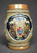 Vintage G. Heilemans Chicagoland Beer Stein